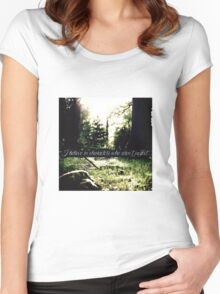 STANA KATIC, QUOTE #3 Women's Fitted Scoop T-Shirt