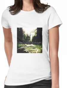 STANA KATIC, QUOTE #3 Womens Fitted T-Shirt