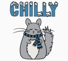 Chilly Chinchilla One Piece - Long Sleeve