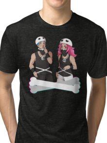Team Skull Swag Tri-blend T-Shirt