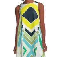 Proto Tribal A-Line Dress