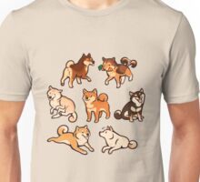 shibes in cream Unisex T-Shirt