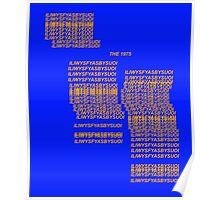 ILIWYSFYASBYSUOI - BLUE/ORANGE  Poster