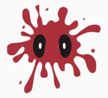 Deadpool Paint Splatter by Gidon Louria