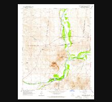 USGS TOPO Map Arizona AZ Granite Reef Dam 311547 1964 24000 Unisex T-Shirt