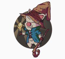 Final Fantasy Wizard Moogle Baby Tee