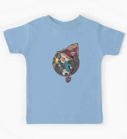Final Fantasy Wizard Moogle Kids Tee