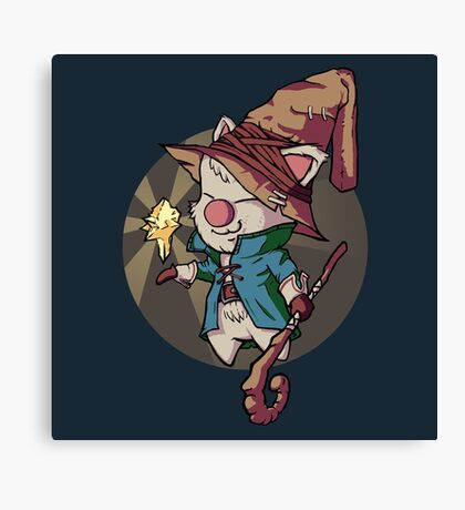 Final Fantasy Wizard Moogle Canvas Print