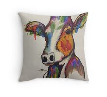 Moo-nét Throw Pillow