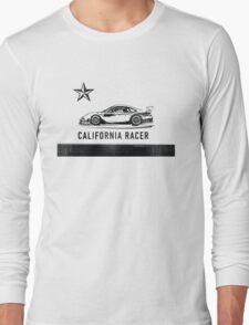 California Racer - Black Porsche Long Sleeve T-Shirt