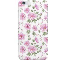 Floral tile pattern for vintage design iPhone Case/Skin