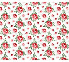 Rose seamless pattern for floral background Photographic Print