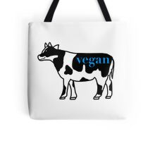 vegan cow Tote Bag