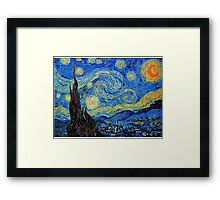 In the style of Van Gogh - 2 Framed Print