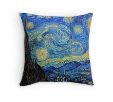 In the style of Van Gogh - 2 Throw Pillow