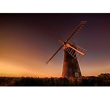 Long day at the mill Photographic Print
