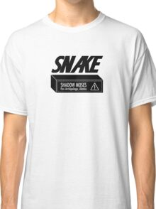 Snake Metal Gear Solid Classic T-Shirt