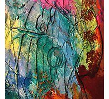 Mixed media 17 by rafi talby Photographic Print