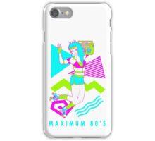 Maximum 80's iPhone Case/Skin