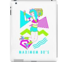 Maximum 80's iPad Case/Skin