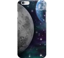 The Moon and Earth iPhone Case/Skin