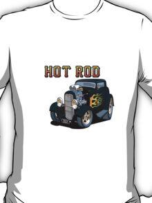 1932 Ford Hot Rod Car toon, Ziggy T-Shirt