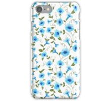 Floral seamless pattern for textile fabric iPhone Case/Skin