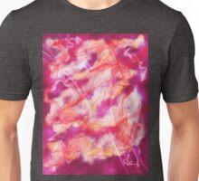 magenta nebula Unisex T-Shirt