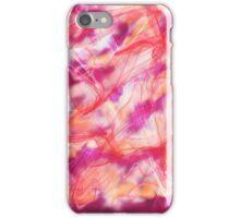magenta nebula iPhone Case/Skin