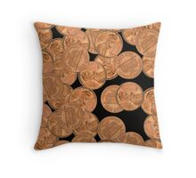 Heads and Tails   Throw Pillow
