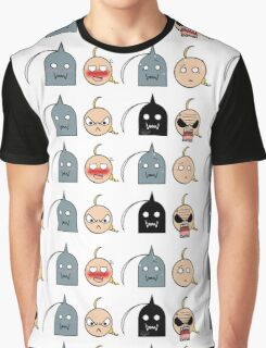 Ed and Al - Chibi expressions Graphic T-Shirt
