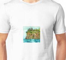 Resurrection Bay Alaska Fjords Unisex T-Shirt