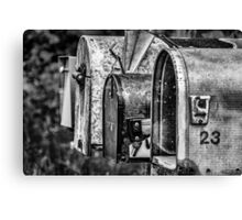 Mail Boxes in Baddeck Canvas Print