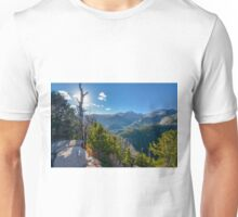 Dream Lake Overlook in Rocky Mountain National Park. Unisex T-Shirt