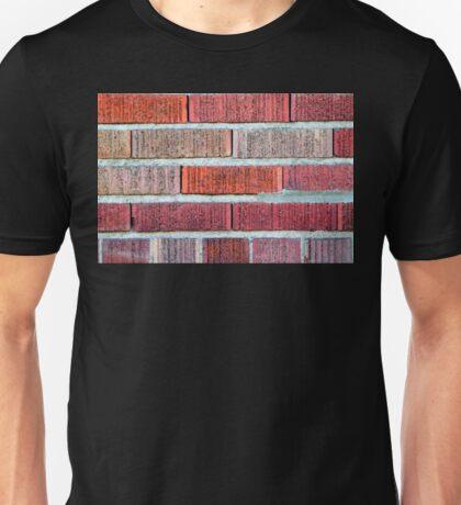 Red Brick Wall Unisex T-Shirt