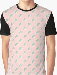 Makoto & Nagisa / Orca & Penguin Graphic T-Shirt