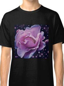 Purple Rose Skies Classic T-Shirt