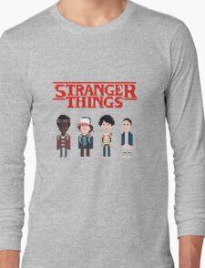 Stranger Things 8-Bit Long Sleeve T-Shirt