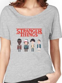 Stranger Things 8-Bit Women's Relaxed Fit T-Shirt