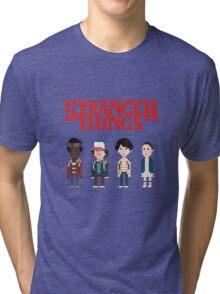 Stranger Things 8-Bit Tri-blend T-Shirt