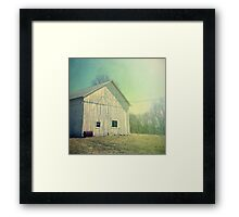 Early Morning in the Country Framed Print