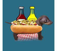 Hot Sausage Dog Photographic Print