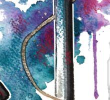 Nautical Watercolor Anchor Sticker