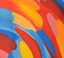Colored background by Tatsiana Kandrashova