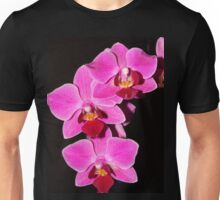 Hot pink Orchid.. Unisex T-Shirt