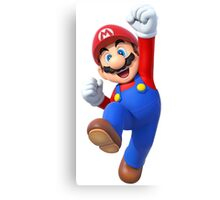 Mario from the Nintendo video game series Canvas Print