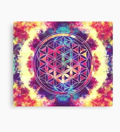 Flower Of Life 02 Canvas Print