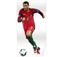 Cristiano Ronaldo - Portugal Poster