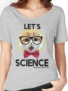 Waffles the Cat - Let's Science Women's Relaxed Fit T-Shirt
