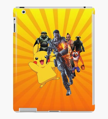Cool Video Game Characters iPad Case/Skin